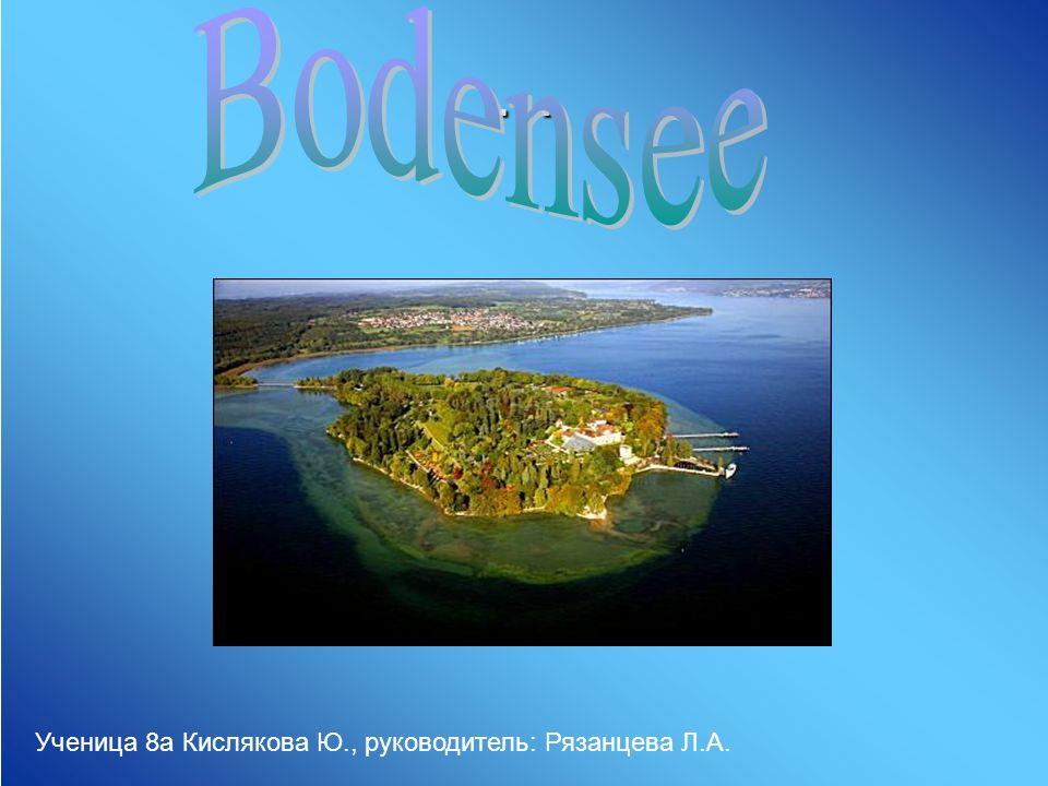 Не менее интересен другой остров, Майнау, прозванный Островом цветов , с его оранжереей пальм и питомником бабочек, является собственностью графа Бернадотте.