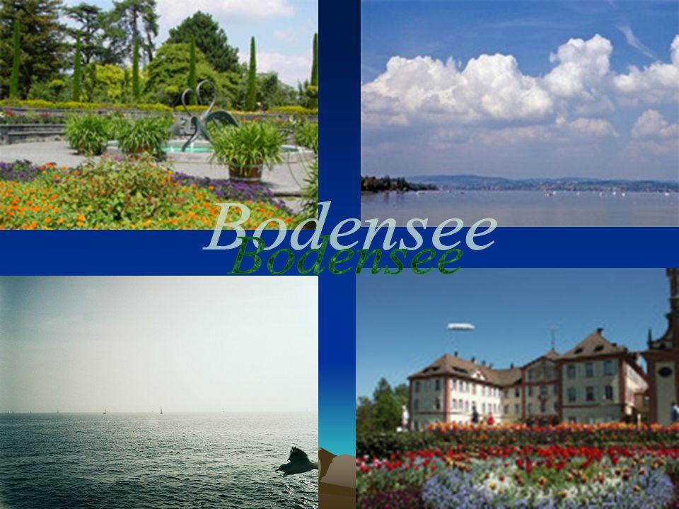 Боденское озеро / Bodensee Боденское озеро (озеро Констанц) расположено на самом юге Германии.