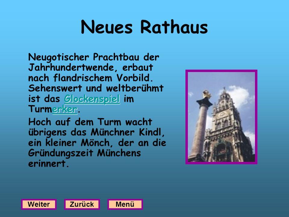Neues Rathaus Glockenspiel erker Glockenspiel erker Neugotischer Prachtbau der Jahrhundertwende, erbaut nach flandrischem Vorbild. Sehenswert und welt