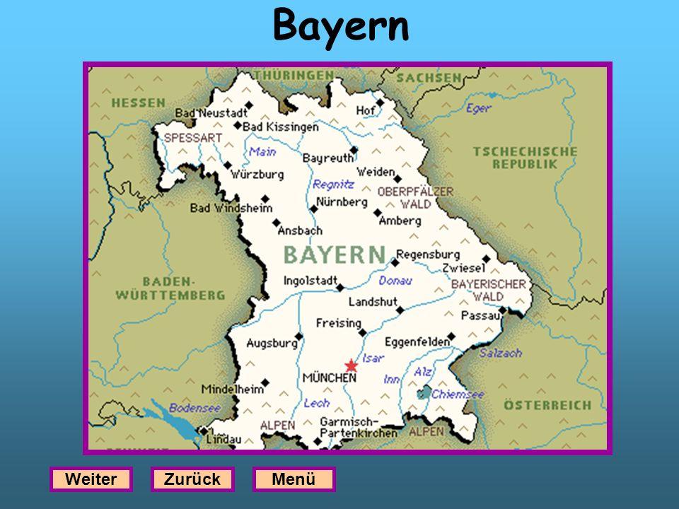 Bayern WeiterZurückMenü