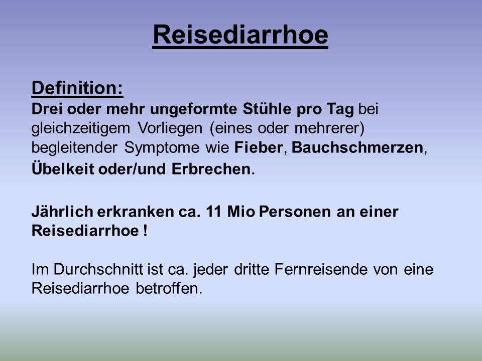 Chemoprophylaxe (1/2) : 1.Indikationen .
