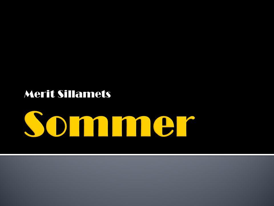 Der Sommer liegt zwischen den Jahreszeiten Frühling und Herbst und ist die wärmste Jahreszeit in der gemäßigten und arktischen Klimazone.