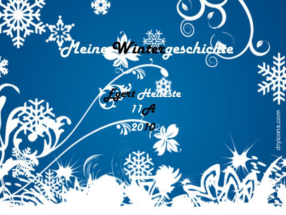 Meine Wintergeschichte Egert Helleste 11A 2010