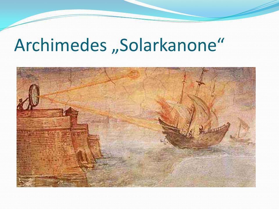 Archimedes Solarkanone