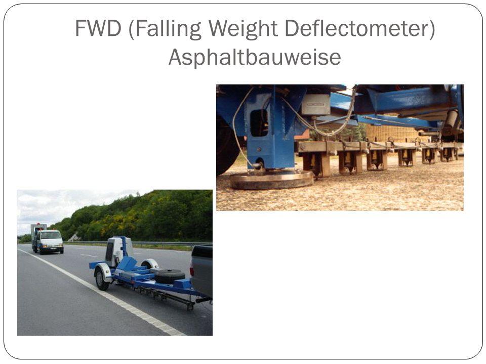 FWD (Falling Weight Deflectometer) Asphaltbauweise