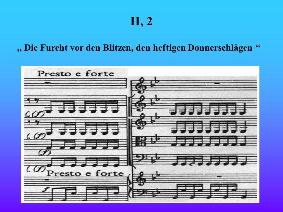 Vivaldi verstand es gut verschiedene Szenen der Natur instrumental darzustellen. Hier kommen einige Beispiele:,, Den müden Gliedern nimmt all ihre Ruh
