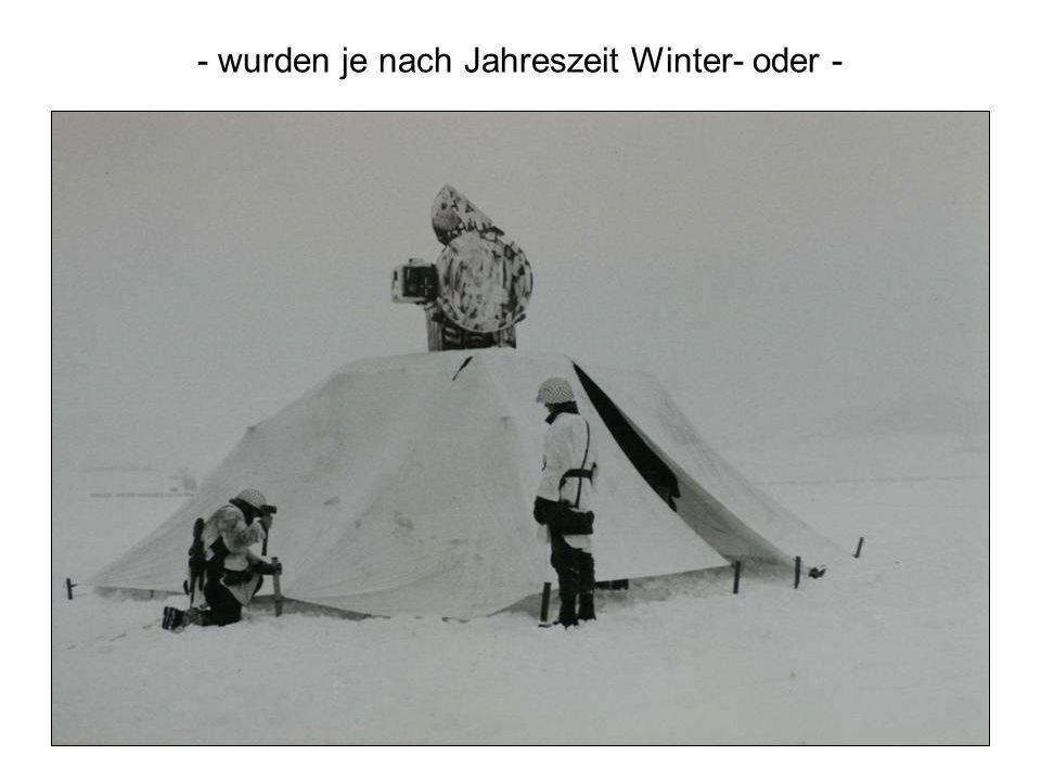 - wurden je nach Jahreszeit Winter- oder -