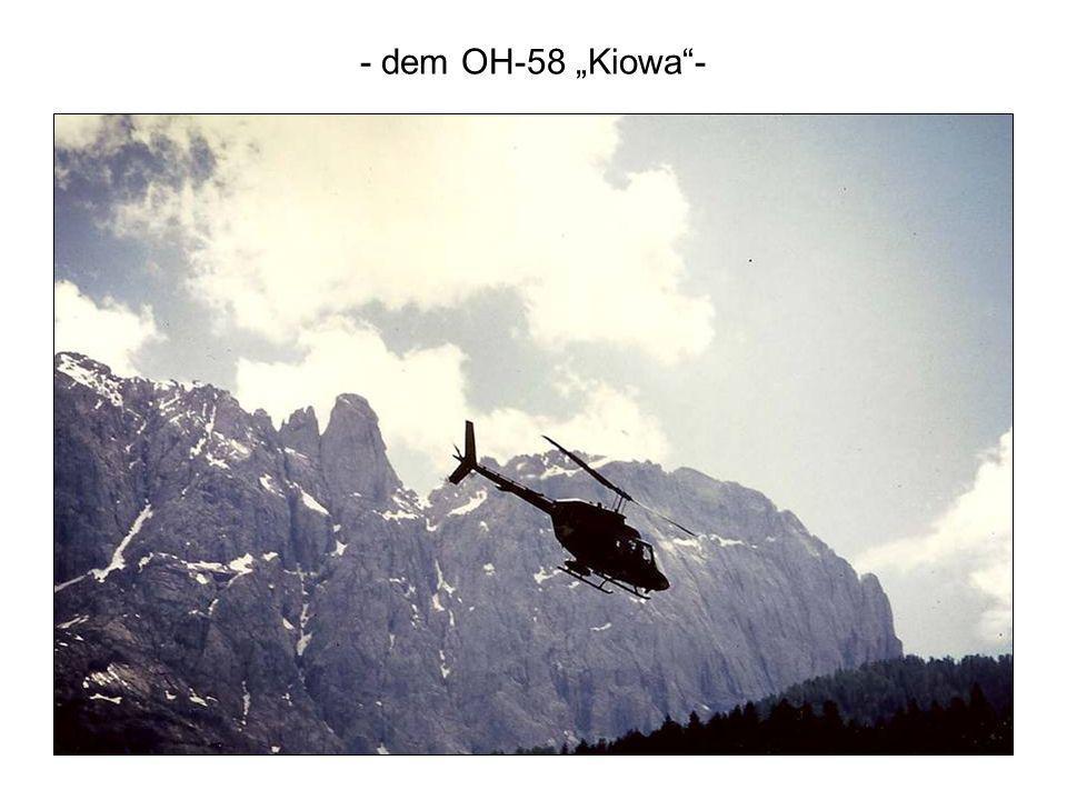 - dem OH-58 Kiowa-