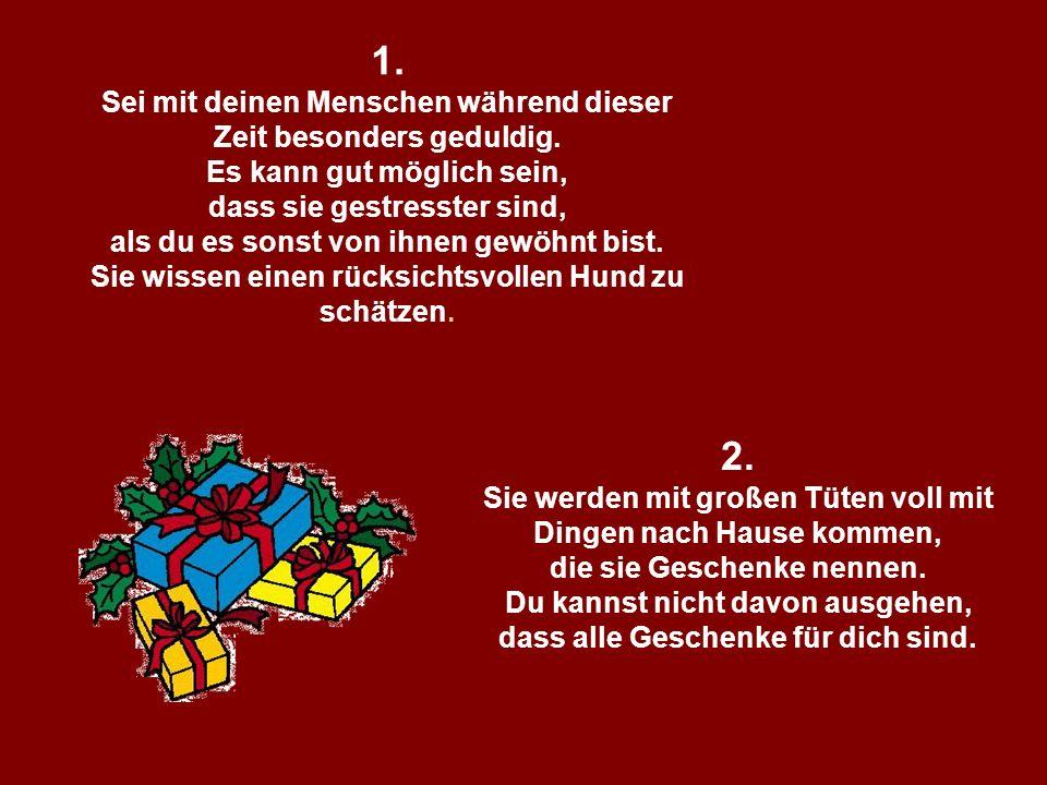 211142584/10 popcorn-fun.de 2. Sie werden mit großen Tüten voll mit Dingen nach Hause kommen, die sie Geschenke nennen. Du kannst nicht davon ausgehen