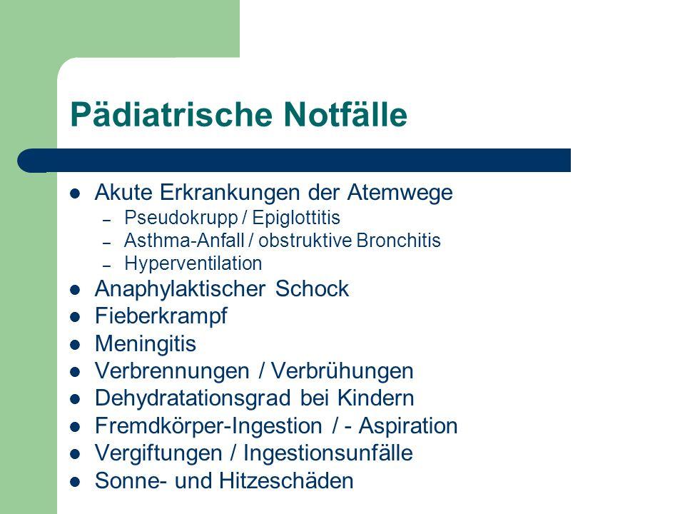 Asthma-Anfall / obstruktive Bronchitis Symptome – Hustenreiz bzw.