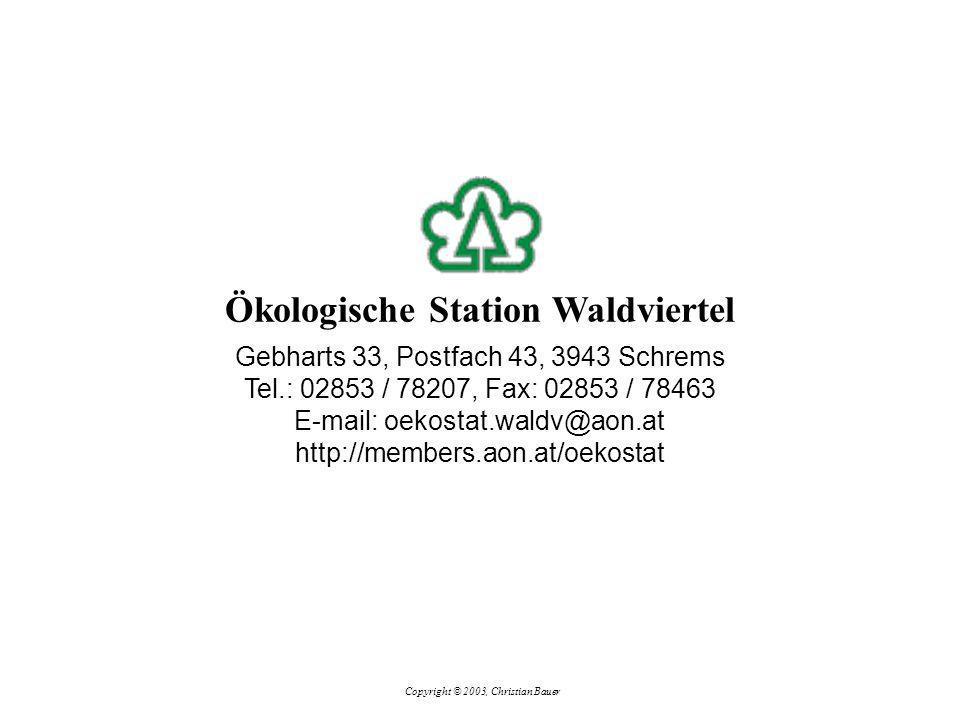 Gebharts 33, Postfach 43, 3943 Schrems Tel.: 02853 / 78207, Fax: 02853 / 78463 E-mail: oekostat.waldv@aon.at http://members.aon.at/oekostat Ökologisch