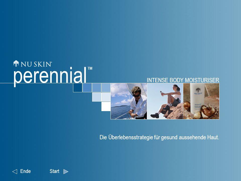 INTENSE BODY MOISTURISER Die Überlebensstrategie für gesund aussehende Haut. EndeStart perennial