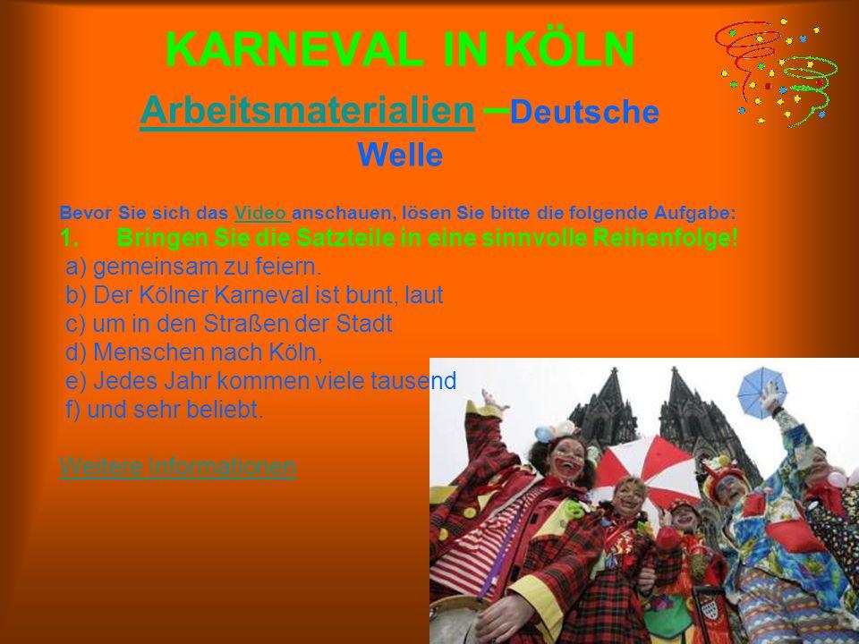 Ergänzen Sie! Karneval - im Rheinland, Fasching - in Bayern, Fastna..t, in Mainz und Umgebung. In der Karnevals.eit sind die.inder und Erwa..senen fr.