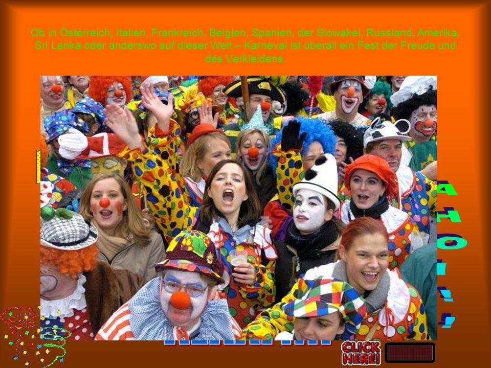 Umfrage Feierst du Karneval? Verkleidest du dich? Machst du dir viele Gedanken über deine Verkleidung zu Karneval? Hast du irgendwelche Tradition? Wie