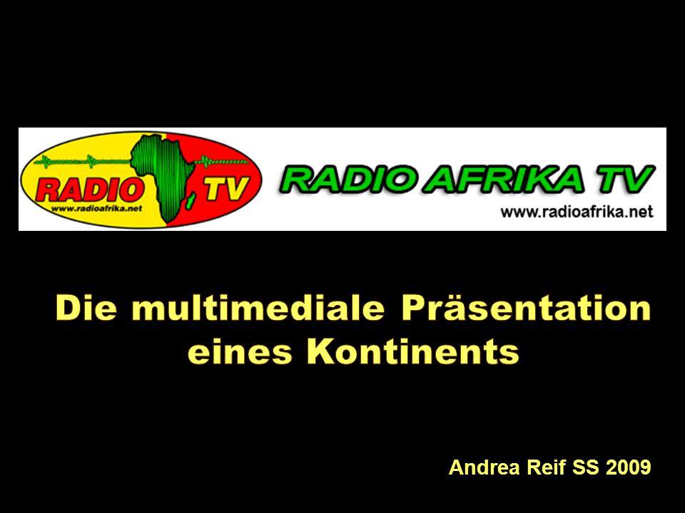 Multimediale Präsentation eines Kontinents Andrea Reif SS 2009