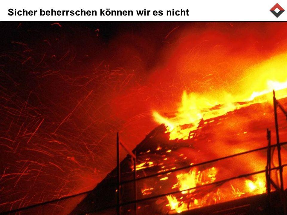 Risiko Feuer bewältigen 1.Verhüten 2.Begrenzen Prävention Intervention 3.Vorsorgen Versicherung Notfallplanung