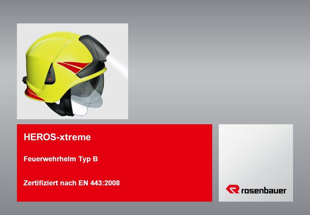 HEROS-xtreme Feuerwehrhelm Typ B Zertifiziert nach EN 443:2008