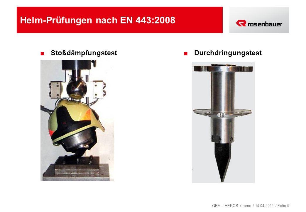 GBA – HEROS-xtreme / 14.04.2011 / Folie 86 NAUTILUS – bewährte Rosenbauer Pumpentechnologie