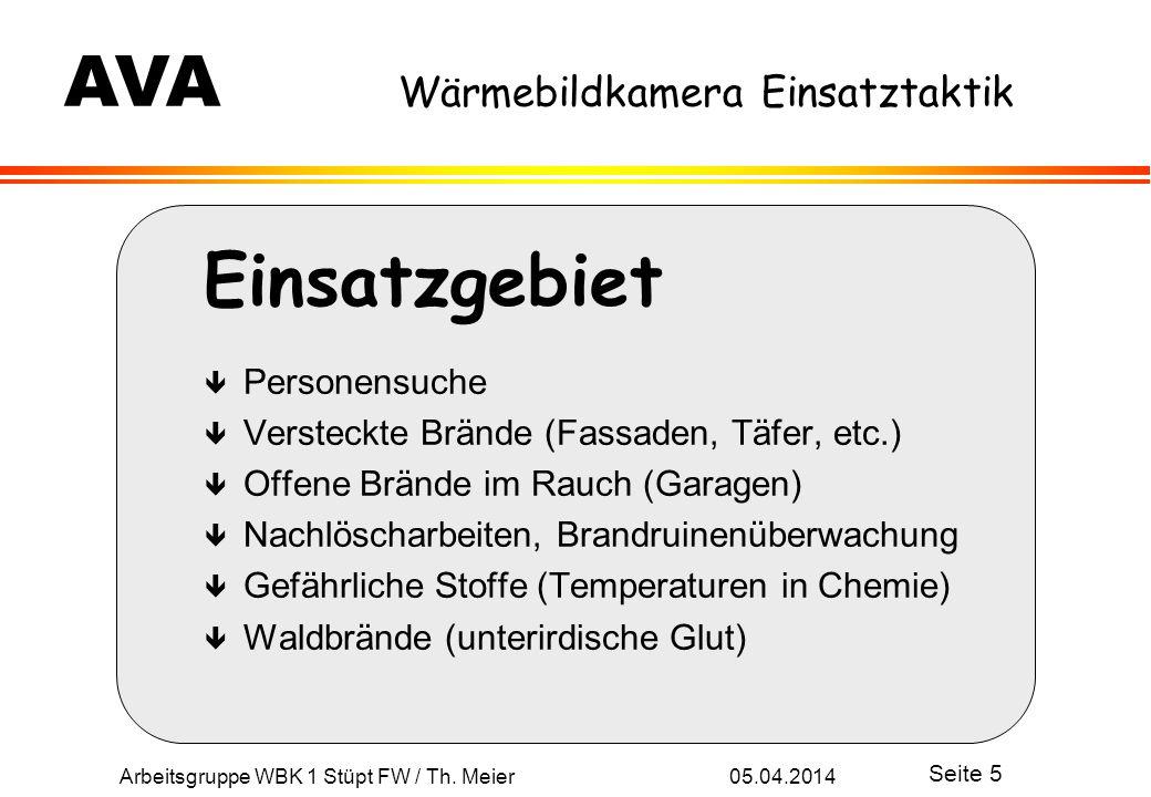 Arbeitsgruppe WBK 1 Stüpt FW / Th.