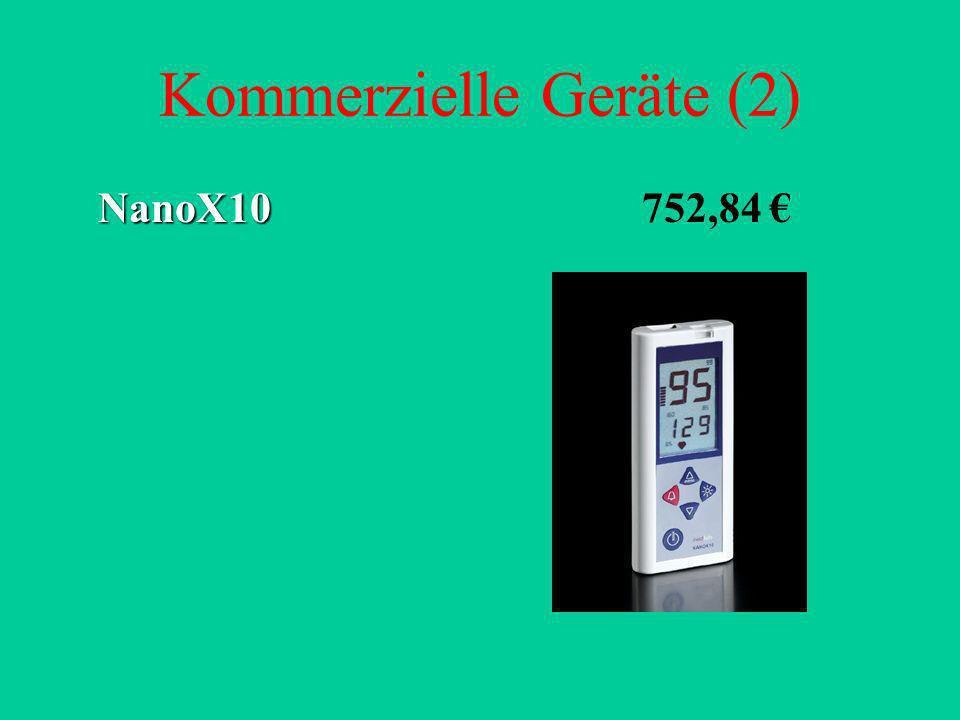 Kommerzielle Geräte (2) NanoX10 NanoX10 752,84