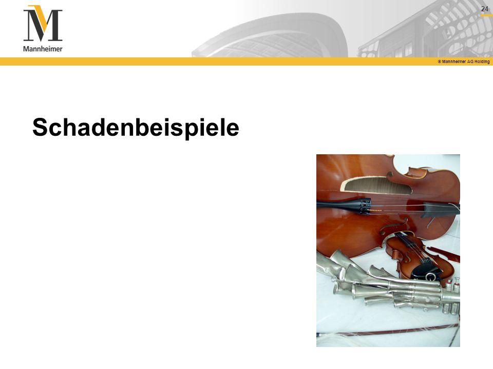 24 © Mannheimer AG Holding Schadenbeispiele