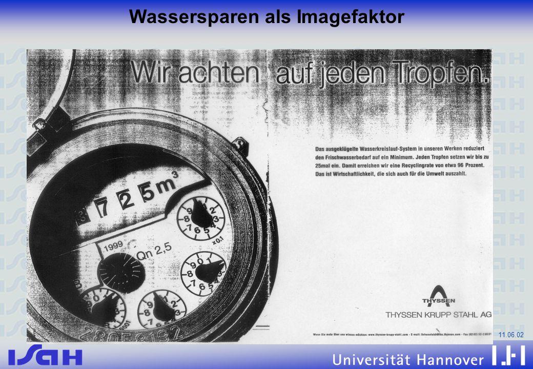11.06.02 Wassersparen als Imagefaktor