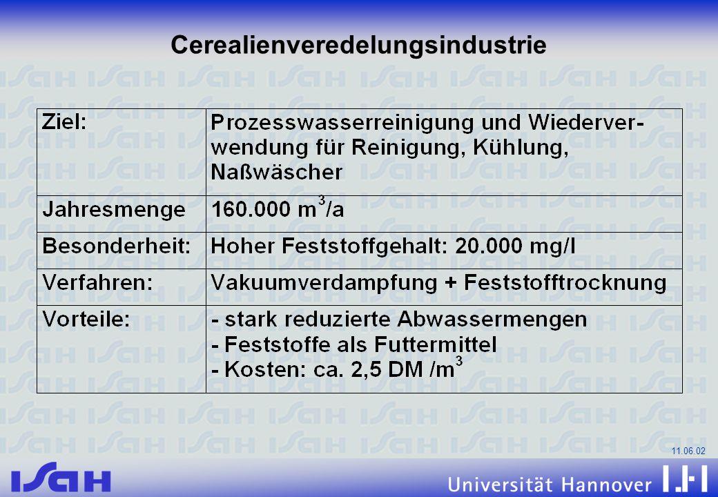 11.06.02 Cerealienveredelungsindustrie