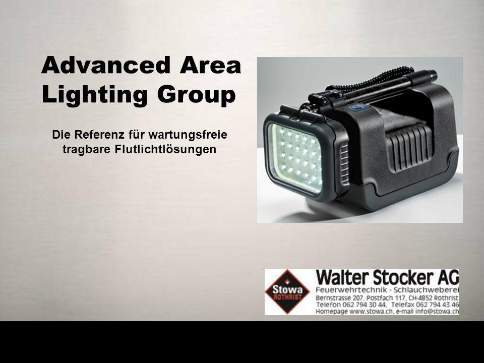 Advanced Area Lighting Group Die Referenz für wartungsfreie tragbare Flutlichtlösungen