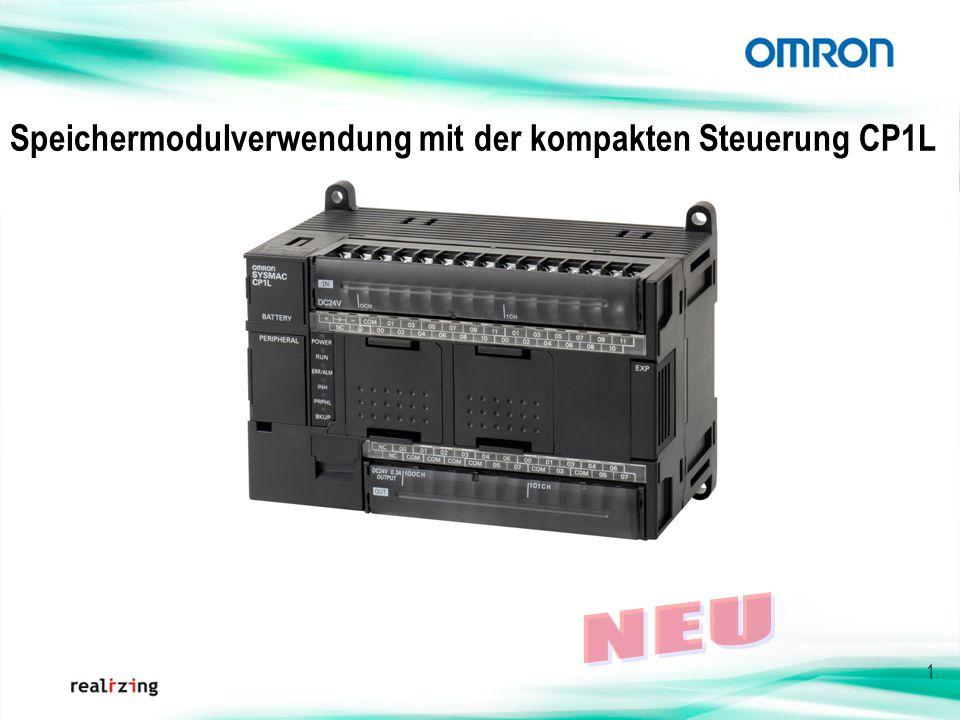 1 Speichermodulverwendung mit der kompakten Steuerung CP1L