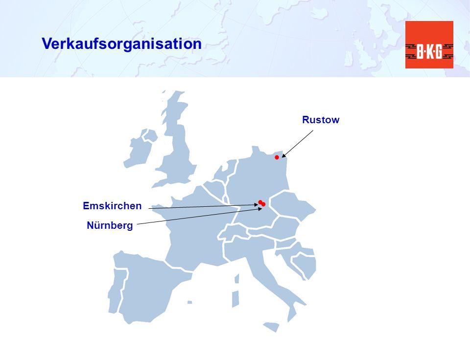 Verkaufsorganisation Emskirchen Rustow Nürnberg