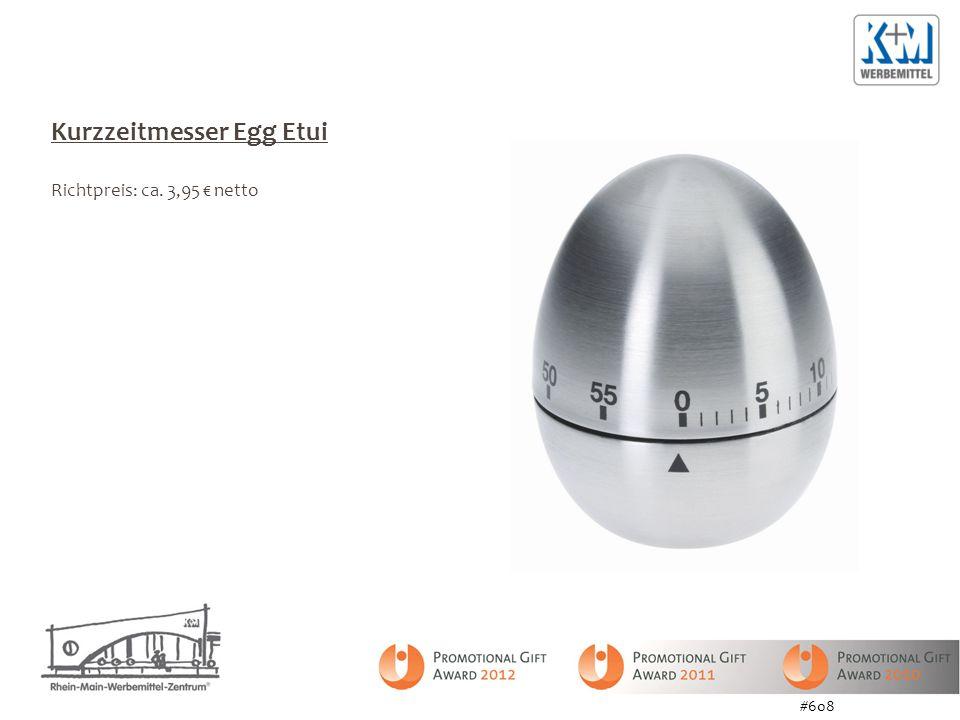 Kurzzeitmesser Egg Etui Richtpreis: ca. 3,95 netto #608