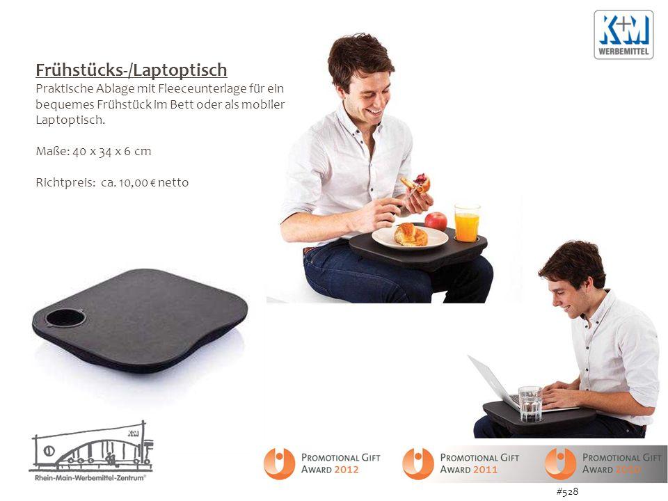 Frühstücks-/Laptoptisch Praktische Ablage mit Fleeceunterlage für ein bequemes Frühstück im Bett oder als mobiler Laptoptisch.