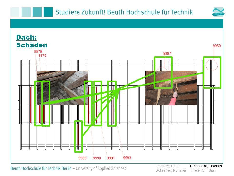 Dach: Schäden Görlitzer, RenéProchaska, Thomas Schreiber, NormanThiele, Christian