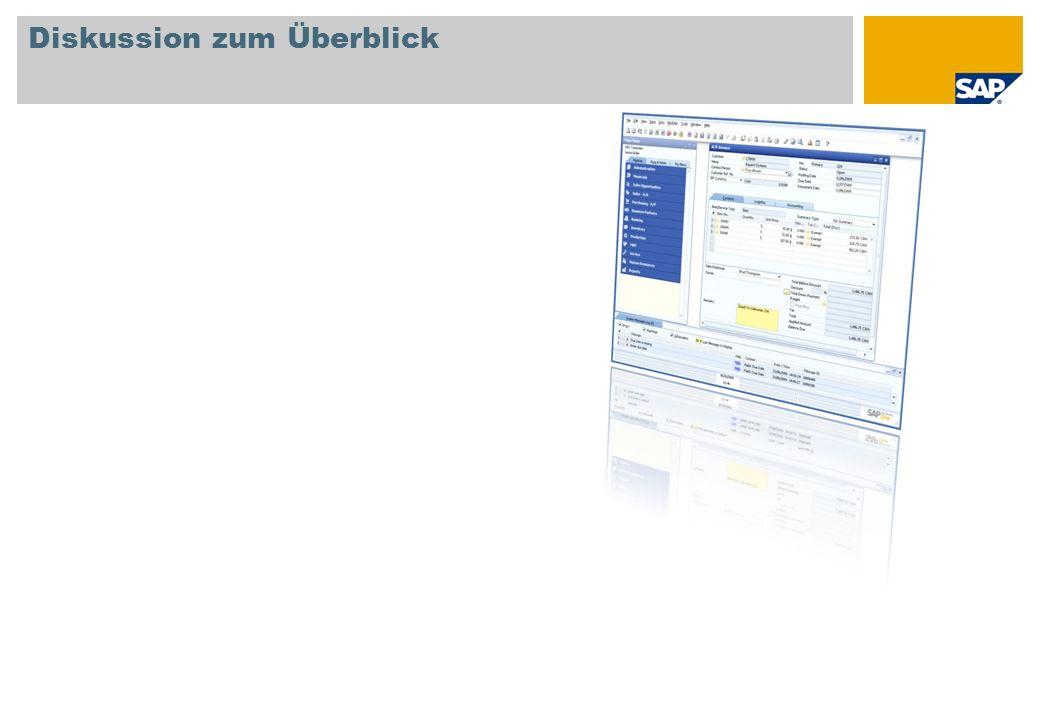 SAP AG 2009, SAP Business One 8.8 Introduction, GTM Rollout Services Lagerberichte Lagerbestandsbericht Bestandsprüfungsbericht Bestandsstatus Artikelliste Überblick über Artikel und Preise Zeigt Artikel mit Preisen aus den gespeicherten Preisleisten an.