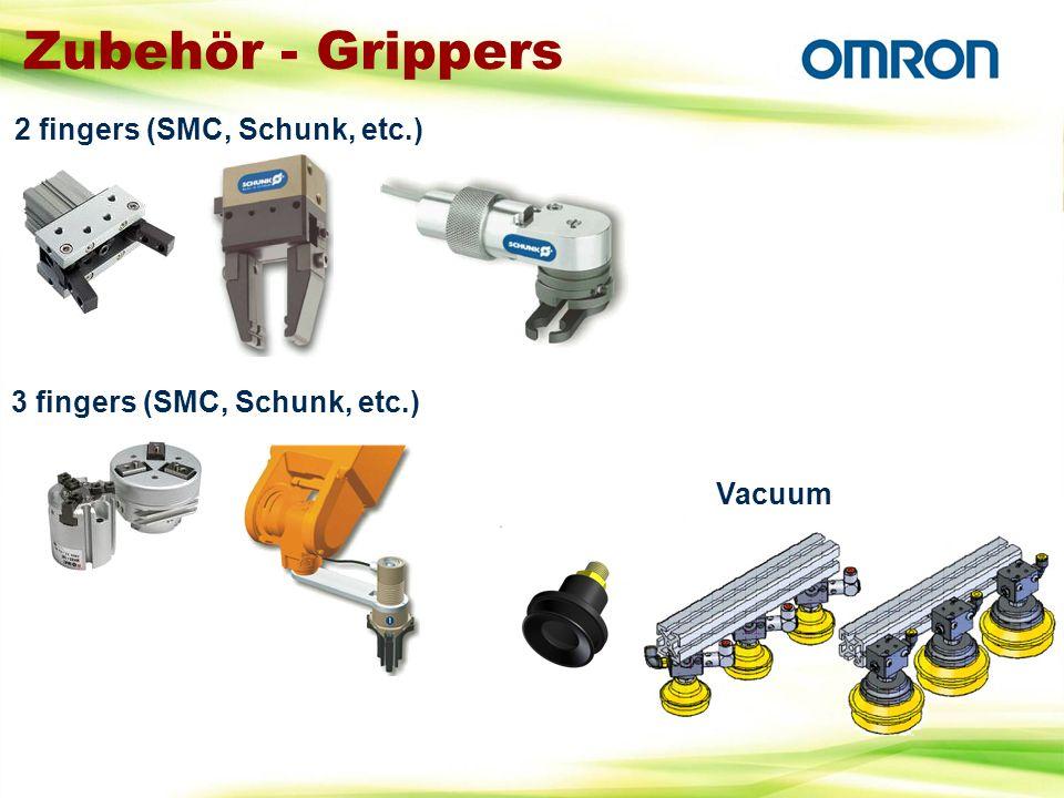 Zubehör - Grippers Vacuum 3 fingers (SMC, Schunk, etc.) 2 fingers (SMC, Schunk, etc.)