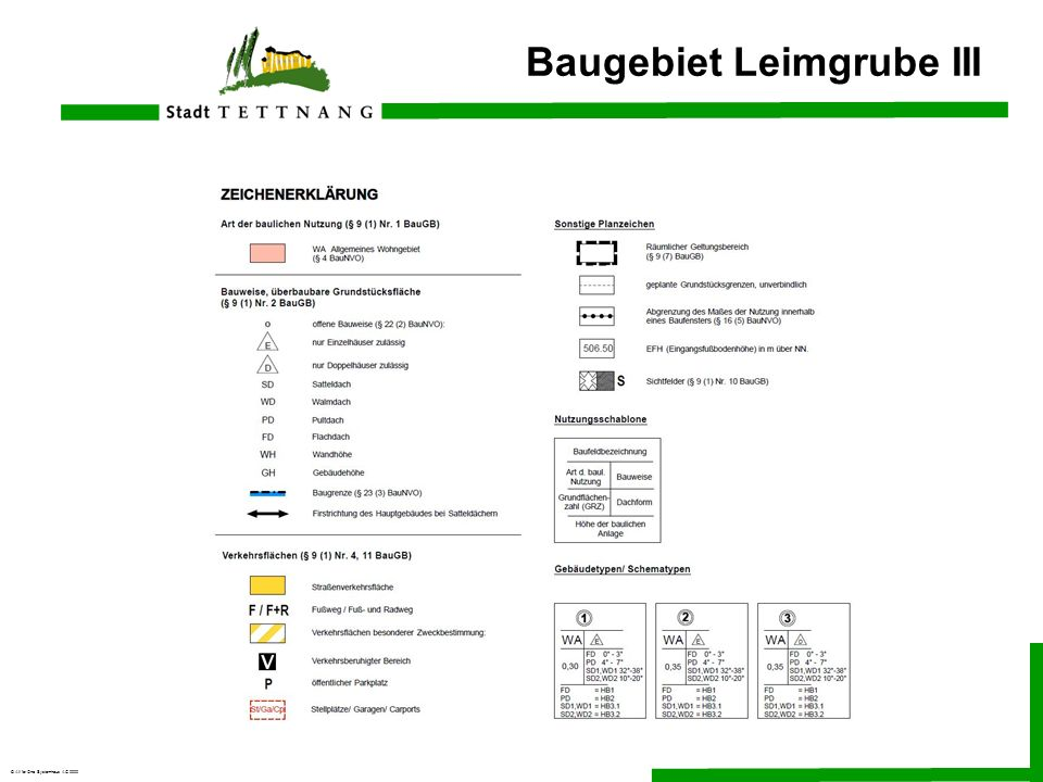 © All for One Systemhaus AG 2000 Baugebiet Leimgrube III