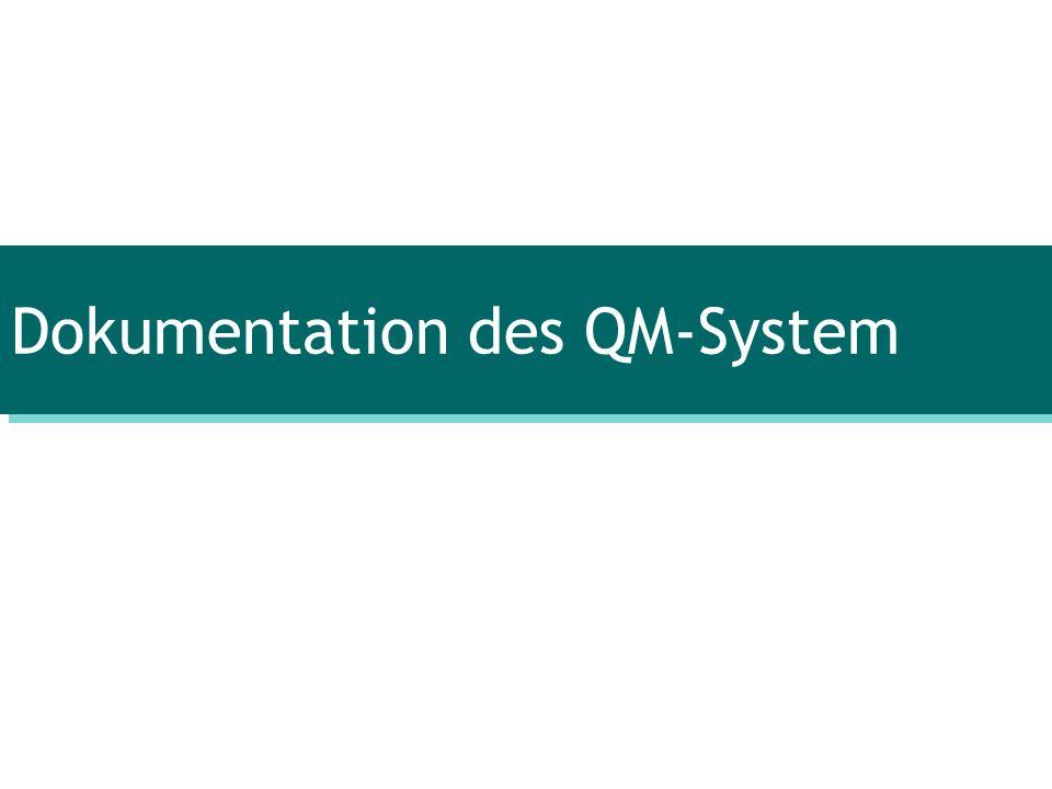 Keine zwingende Vorschrift durch die ISO Mindestaufbewahrungsdauer: 10 Jahre Längere Dauer durch Vorgabe von Gesetzen Beispiel BLT - QM-Dokumente: 10 Jahre - QM-Aufzeichnungen: 30 Jahre - Personaldaten: für immer 4.4.QM-System 4.4.3.Aufzeichnungen 4.4.3.4.Aufbewahrungsfrist