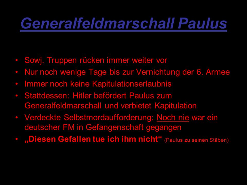 Generalfeldmarschall Paulus Sowj.