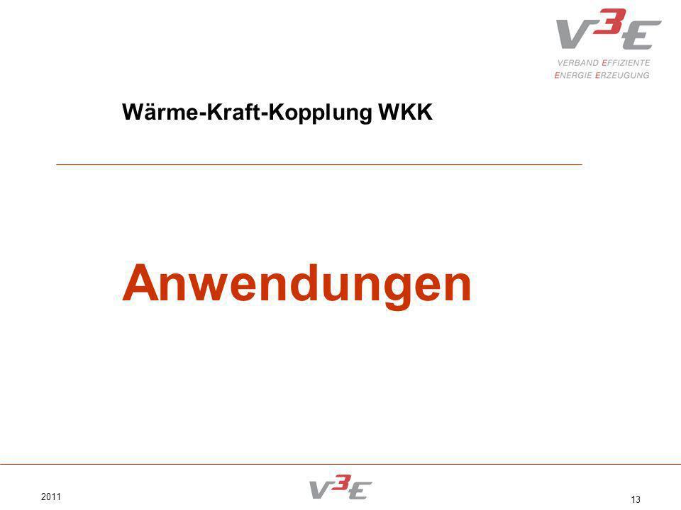 2011 13 Wärme-Kraft-Kopplung WKK Anwendungen