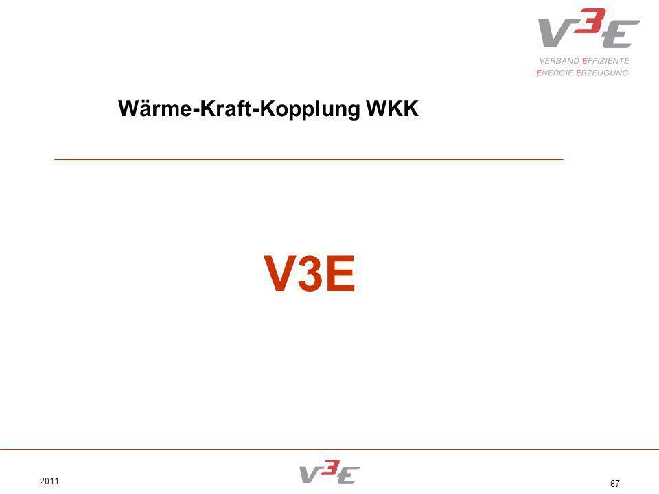 2011 67 Wärme-Kraft-Kopplung WKK V3E