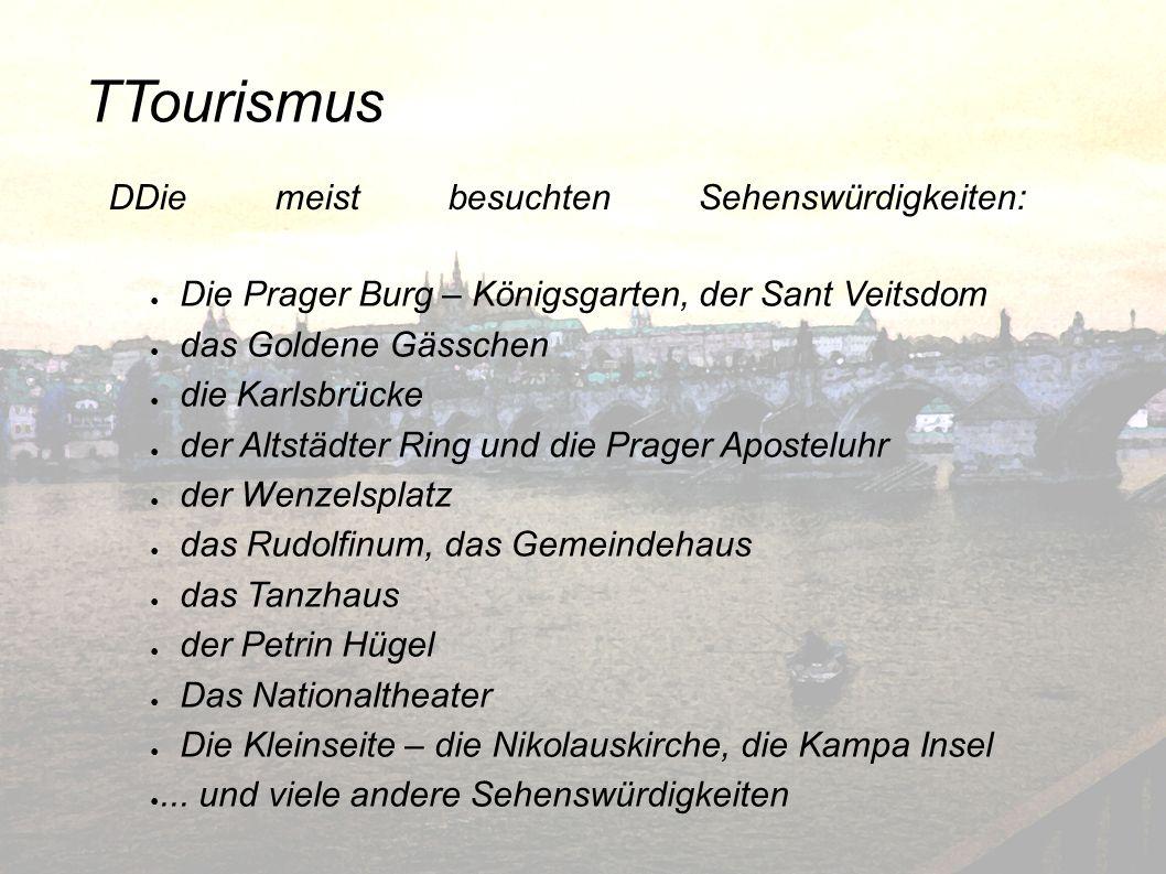 TTourismus Die Prager Burg – Königsgarten, der Sant Veitsdom das Goldene Gässchen die Karlsbrücke der Altstädter Ring und die Prager Aposteluhr der We