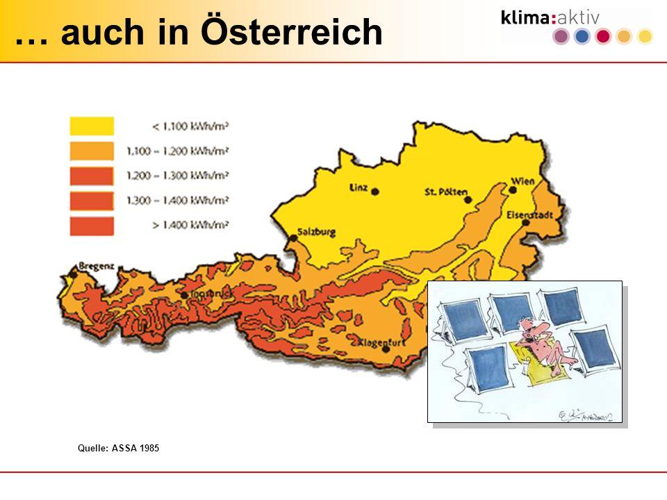 … auch in Österreich Quelle: ASSA 1985