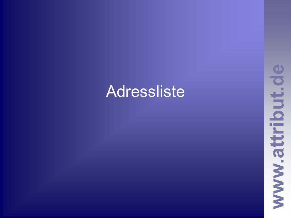 Adressliste