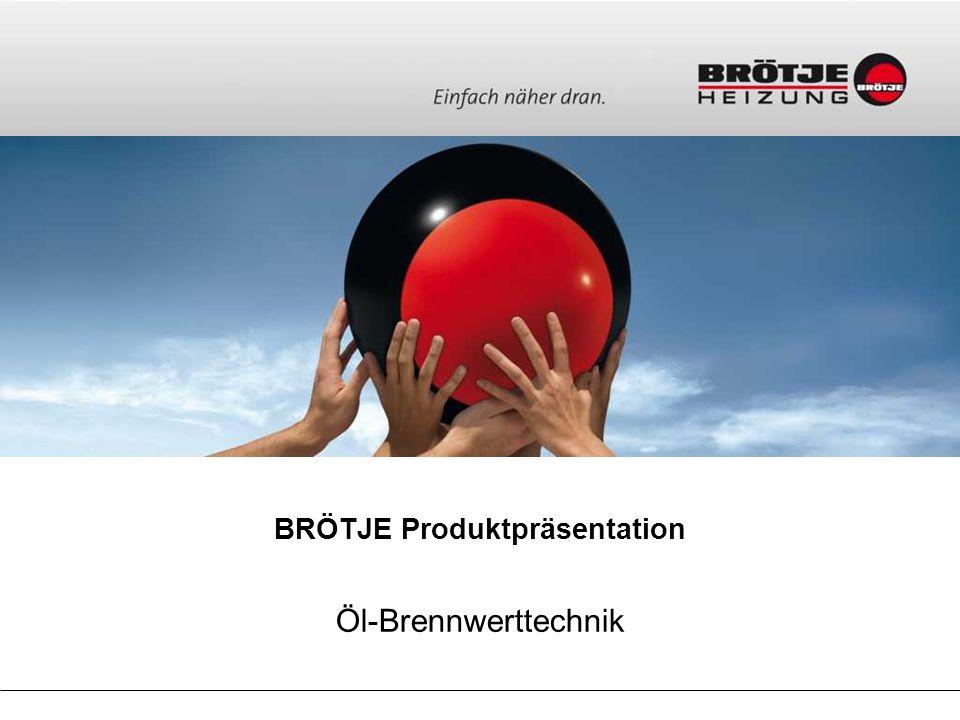 BRÖTJE Produktpräsentation Öl-Brennwerttechnik