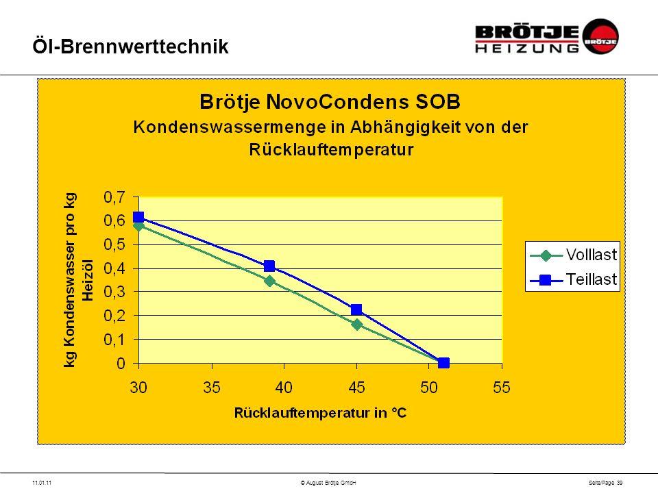 Seite/Page 39 11.01.11© August Brötje GmbH Öl-Brennwerttechnik