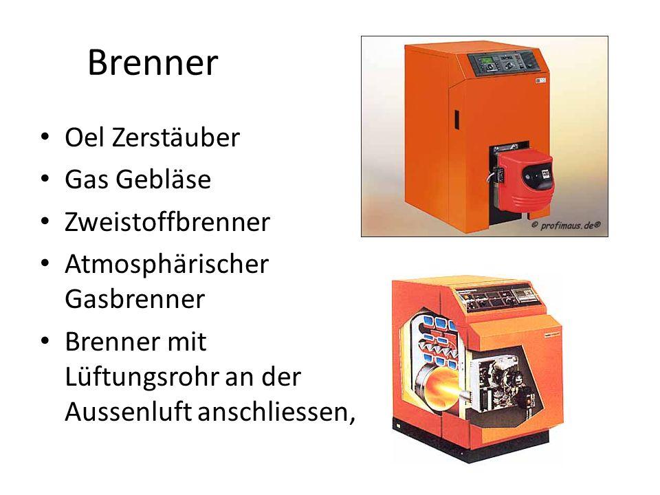 Brenner Oel Zerstäuber Gas Gebläse Zweistoffbrenner Atmosphärischer Gasbrenner Brenner mit Lüftungsrohr an der Aussenluft anschliessen,