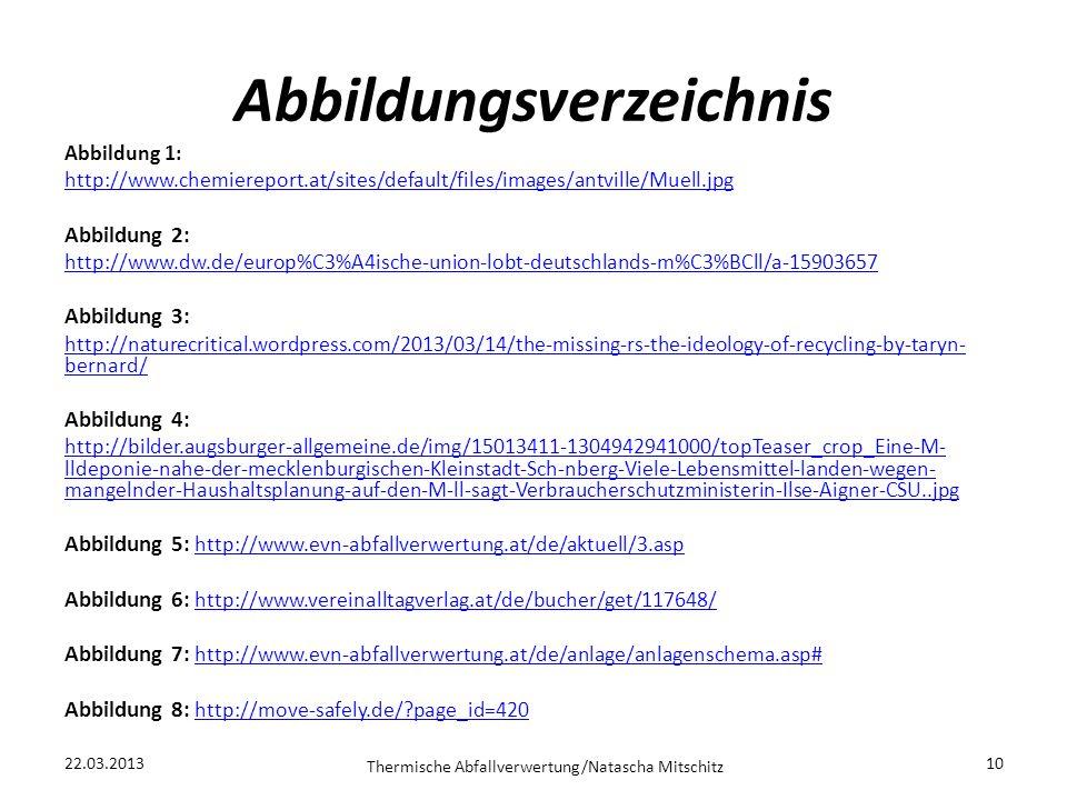 Abbildungsverzeichnis Abbildung 1: http://www.chemiereport.at/sites/default/files/images/antville/Muell.jpg Abbildung 2: http://www.dw.de/europ%C3%A4i