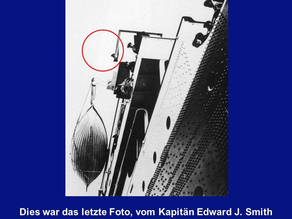 Edward J. Smith hatte Bereits 38 Jahre Erfahrung als Kapitän der ' White Star Line '