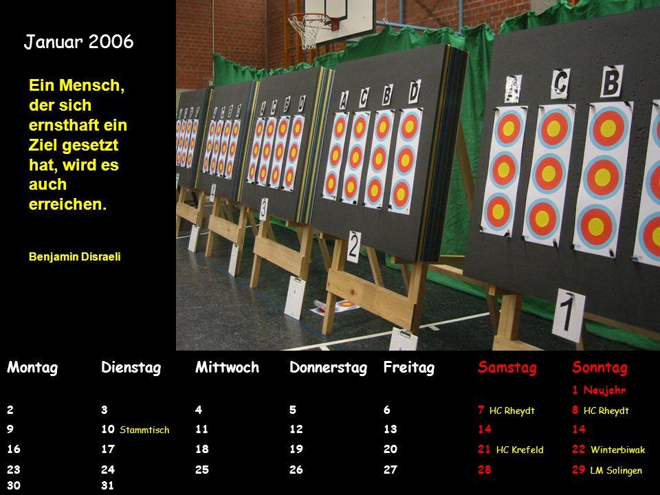 Bogensportkalender 2006