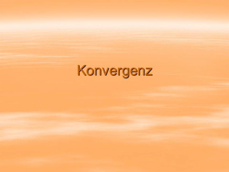 Konvergenz